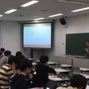 法政大学生命科学部で講義しました